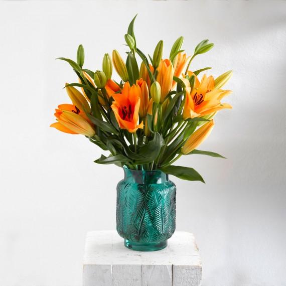 Ramo de flores Lilium naranja