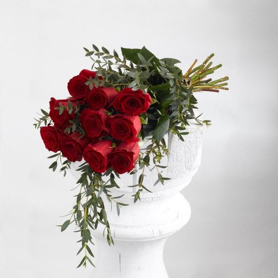 Ramos de rosas rojas a granel