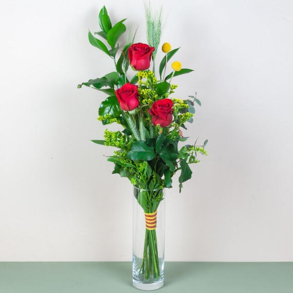 Trío de Rosas Sant Jordi