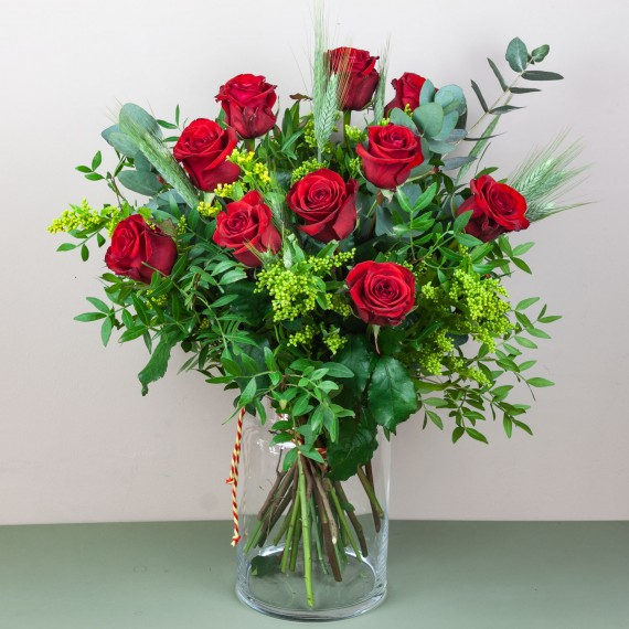 Ramo 10 Rosas Sant Jordi